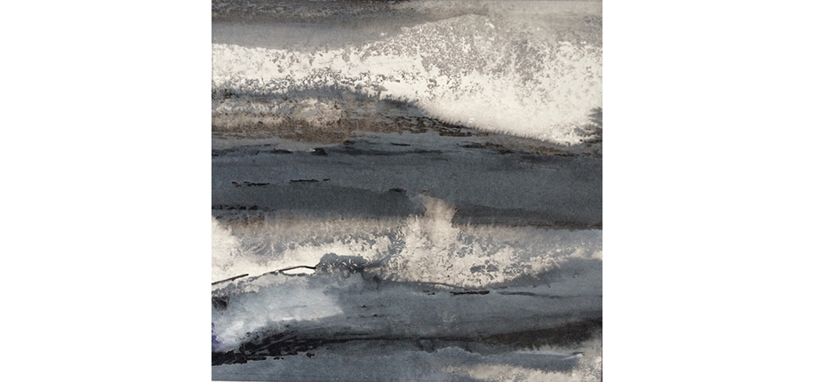 Gesa Reuter | Stormy Grey Sea