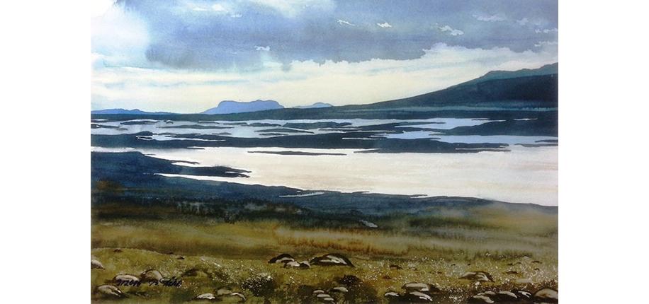 B. Frölich | Island, Hochebene zwischen Reykjavik und bingvellir Heidi