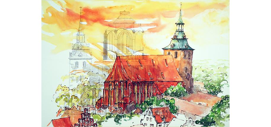 Gudrun Jakubelt | St Michaels, Lüneburg