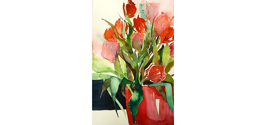 AndreaBuschfort_Rote Tulpen_38x56-n