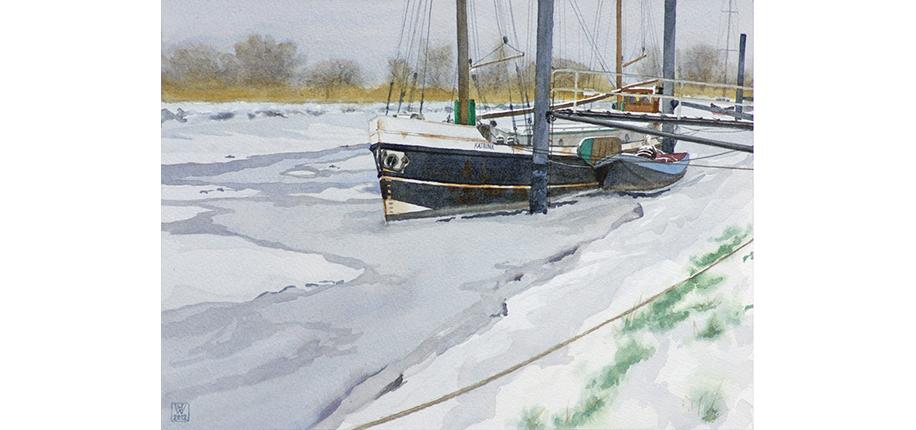 H-F Wessling | Katrina im Eis