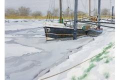 H F Wessling_Katrina im Eis_32x44-n