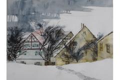 Volker Hahn  Winterlandschaft in der Fränkischen Schweiz