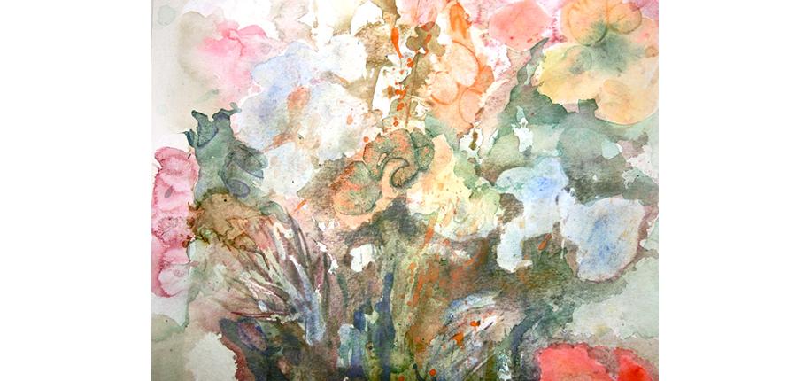 Roswitha Pregger | Blumengarten-2014