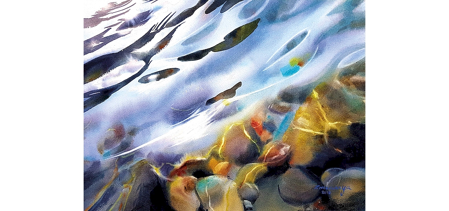Anna Zmievskaya | 3. Platz Publikumspreis - Die Kunst des Aquarells Düren 2019