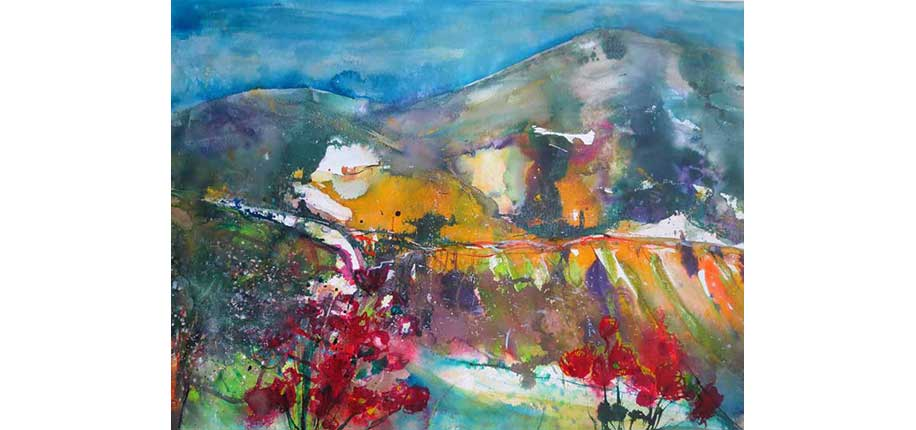 Rita Dahlem | Landschaftsimpression aus der Toskana