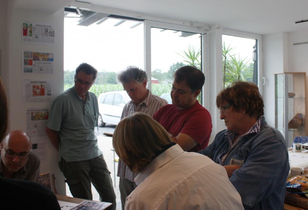 Teilnehmer des Marc Folly Workshops