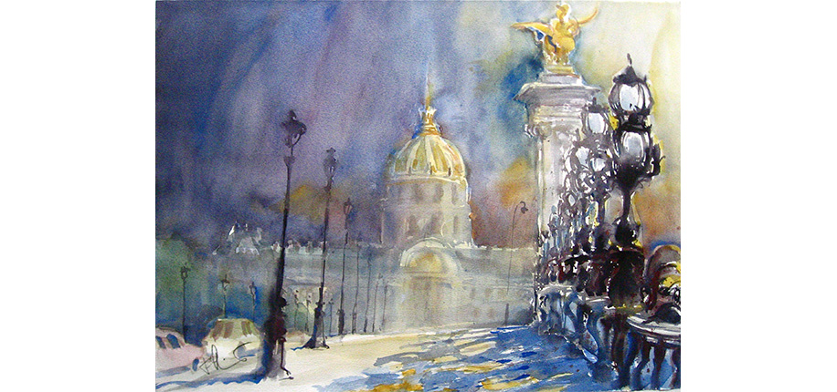 Fritz Schuber | PARIS, PONT ALEXANDRE III