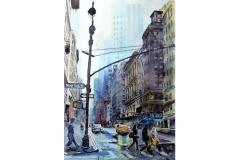 Joachim Tusch | New York im Regen